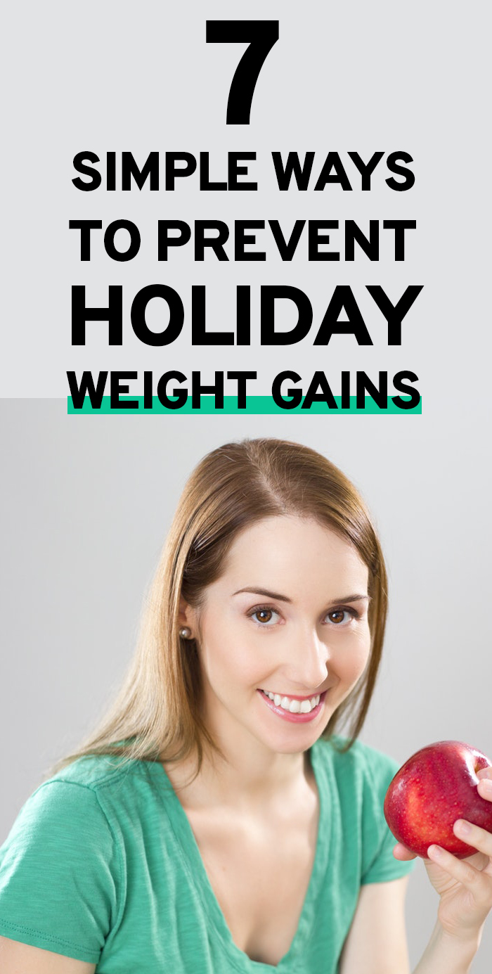 How to prevent holiday weight gains