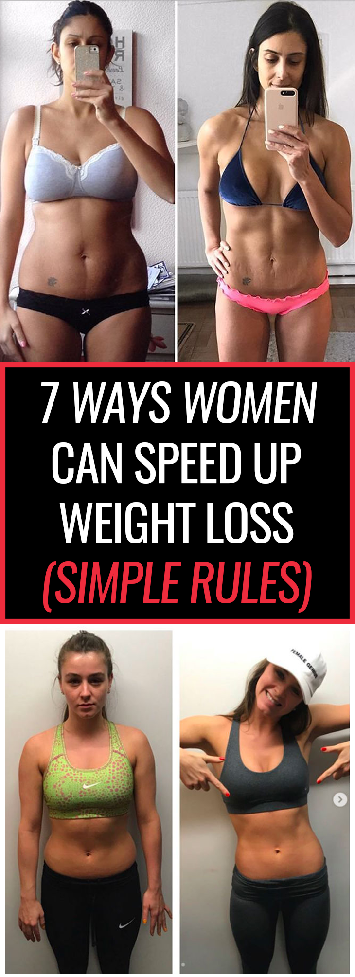If you want to lose weight the healthy way, then read on and follow these 7 simple steps we've summed up for you. It might be the answer you've been looking for.