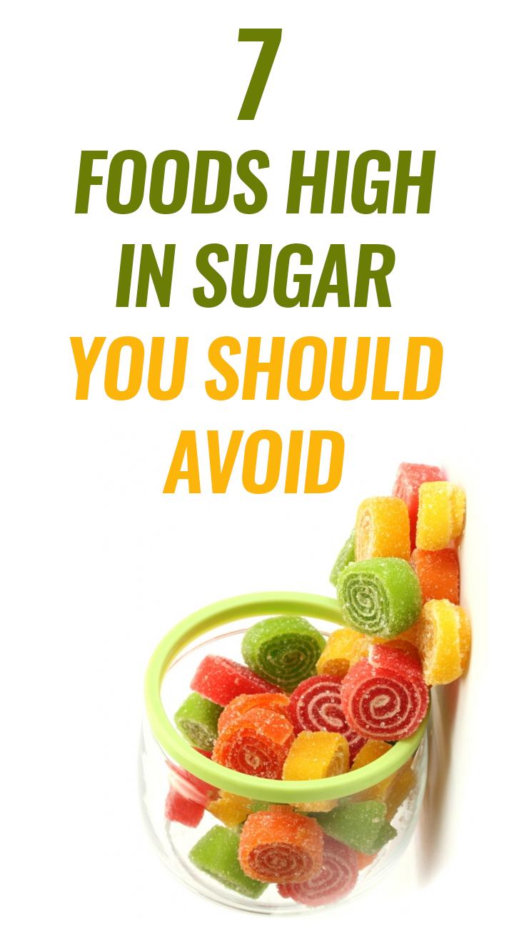foods rich in sugar