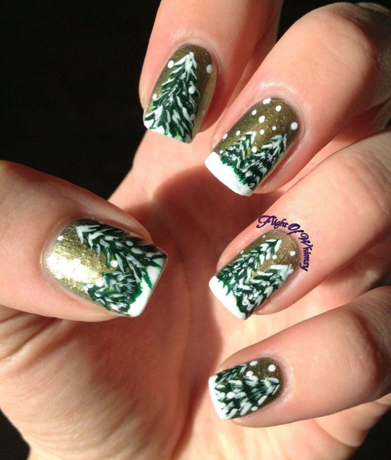 Cute Christmas Nail Design Ideas For 2020