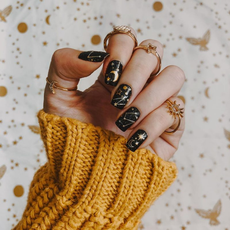 7 Beautiful Fall Nail Art Designs For Inspiration